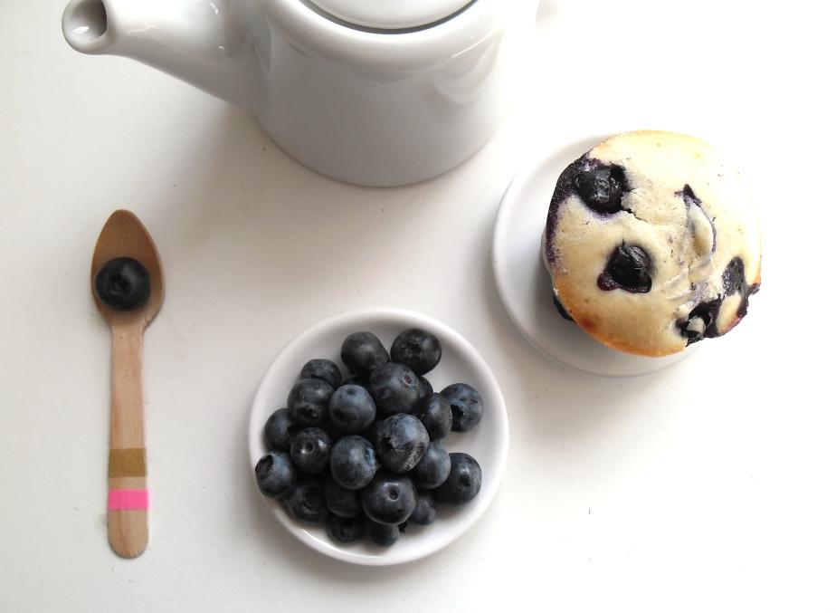 Muffins O Myrtilles