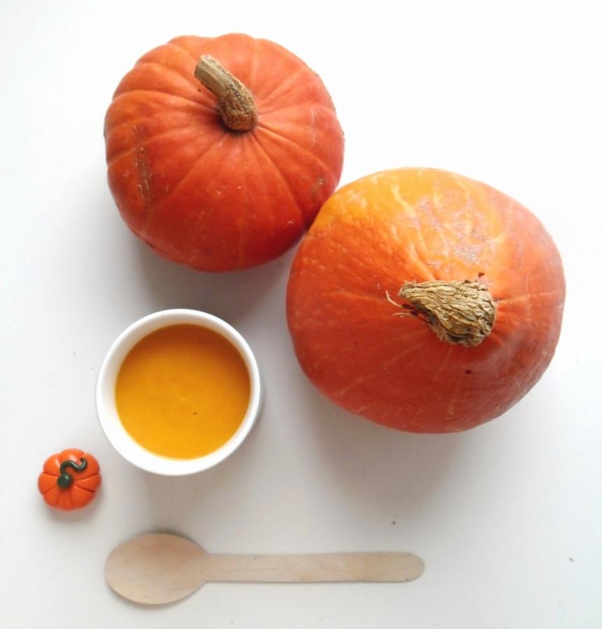 I ♥ Soup #1 : Chaud le Potimarron … chaud!