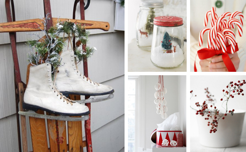 IN THE MOOD for Xmas #2 : Red & White