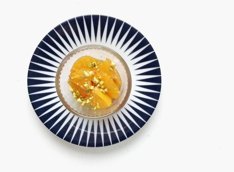 L'Oriental Party #2 : Miel, oranges, cannelle [ et pistache touch]