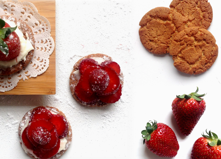 { Ti BISCUITS } Tartelettes O' fraises Express!