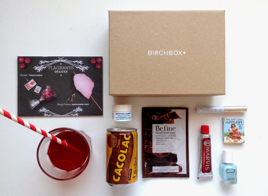BIRCHBOX #Flagrants délices