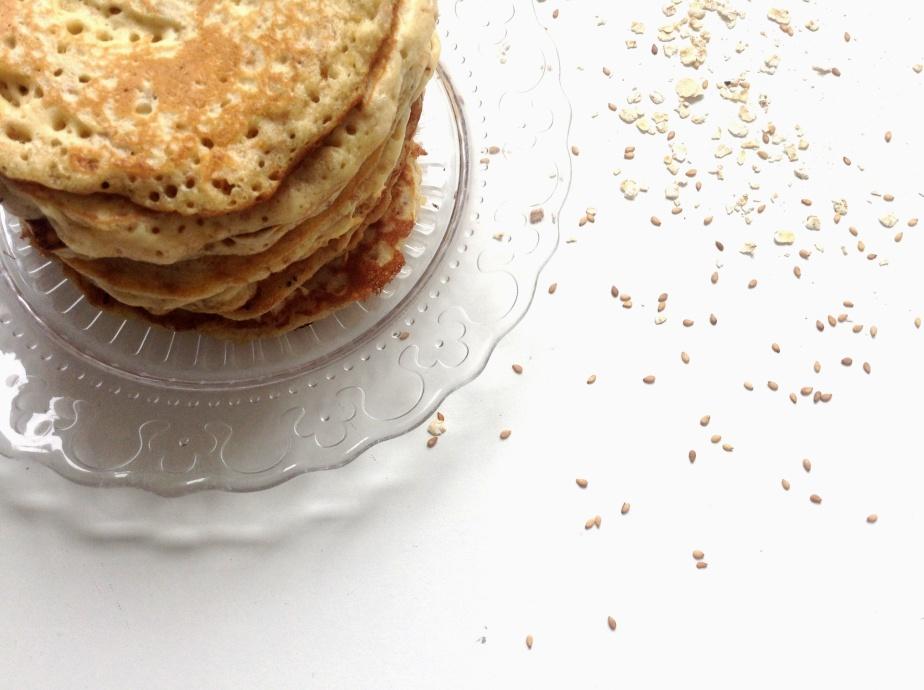 pancakes avoine & sésame 002