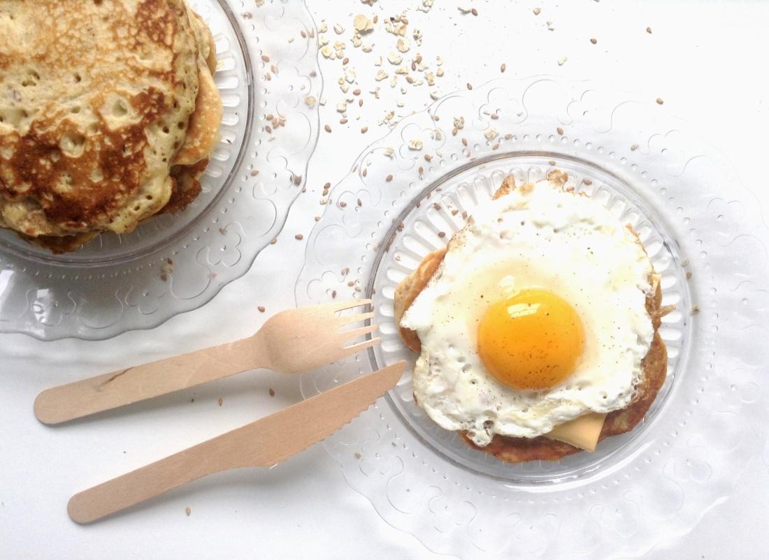 pancakes avoine & sésame