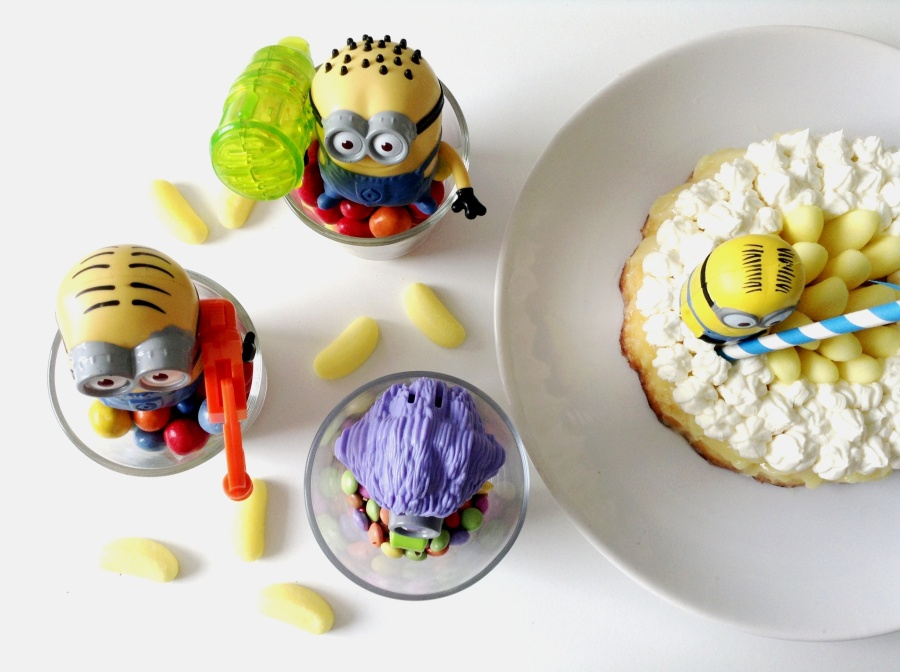 Mon Minion's Party #3 : Supa Dupa Sweet Bananaaaah cakiiiz !