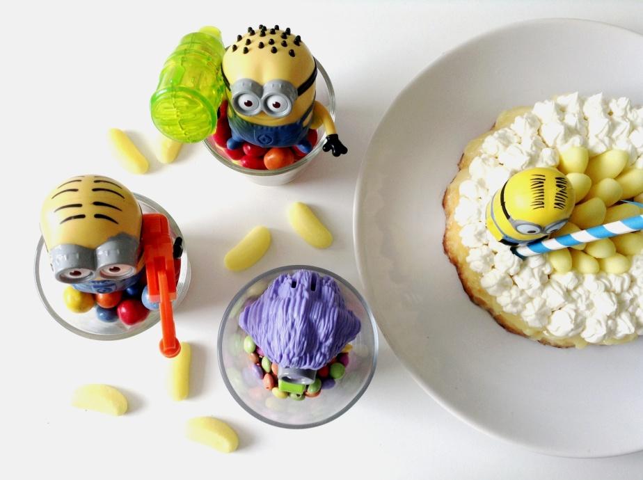 { HAPPY Birthday } Mon Minion's Party #3 : Supa Dupa Sweet Bananaaaah cakiiiz!