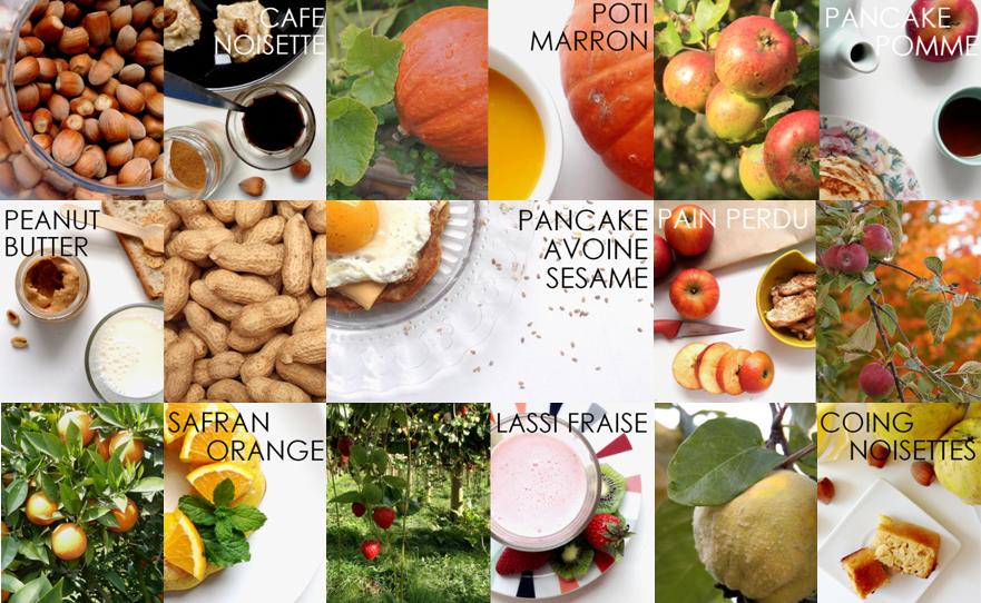 Petites recettes d'automne