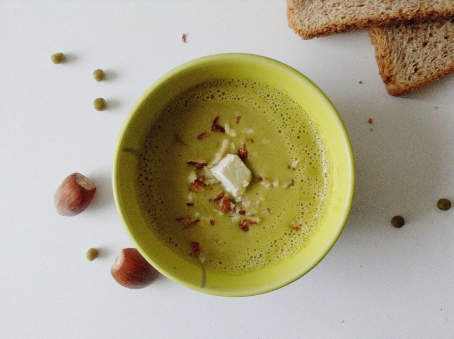 { SOUP'time } Peas &Nuts