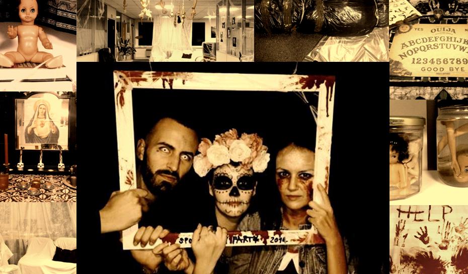 spooky scary family