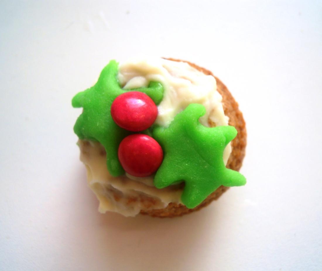carrot xmas cupcakes 2