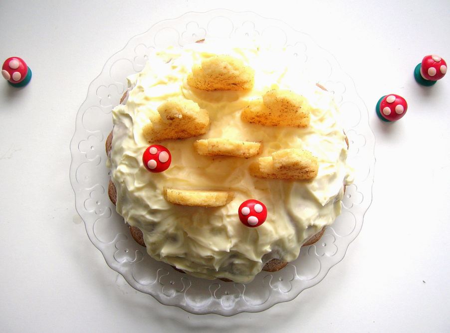 snowy cake 2