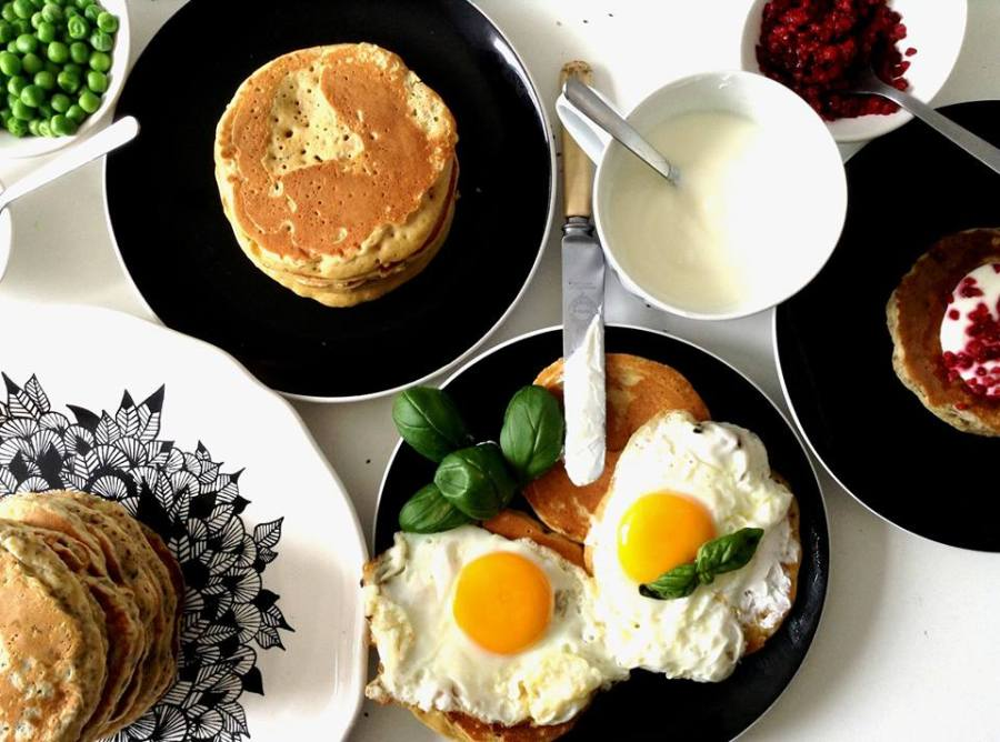{ Brunch @home }  Pancakes only!