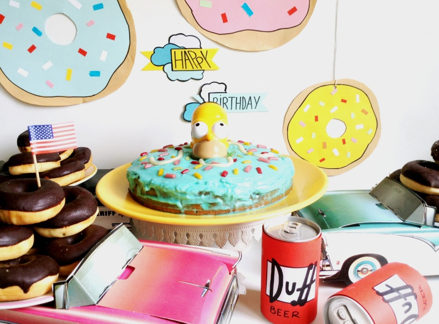 { Happy BIRTHDAY } La Simpsons Party #5: Ouh la la … C'est parti !