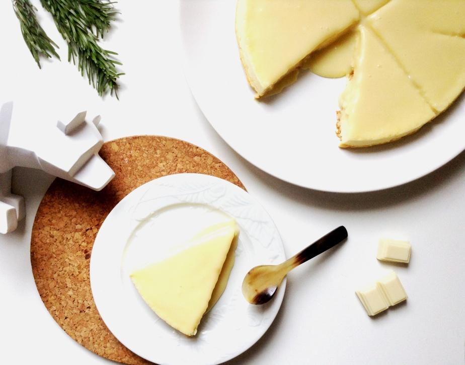 { CAKE o'clock } Cheesecake japonais Blanc … comme sur un nuage au pays dusoleil-levant
