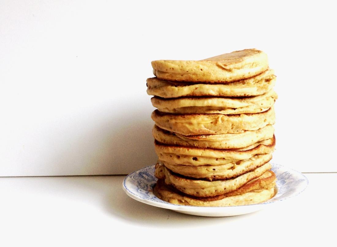 lait d'amande fluffy pancakes (1)