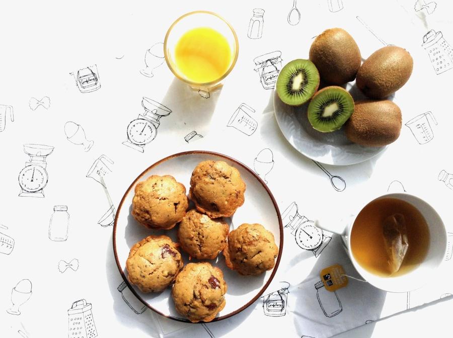 { MUFFIN o'clock } Banana +Chocolat