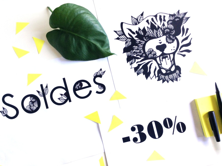 { Black and Wild }SOLDES