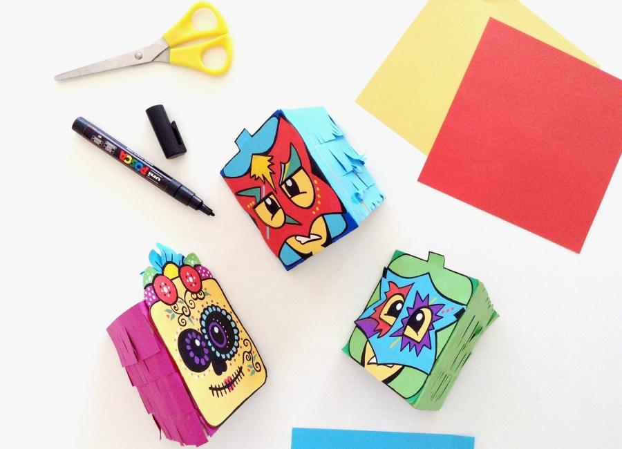 { Happy BIRTHDAY } LEGO Party #2: PinatasMexicanas