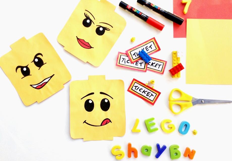 { Happy BIRTHDAY } LEGO Party #1: Let's go!