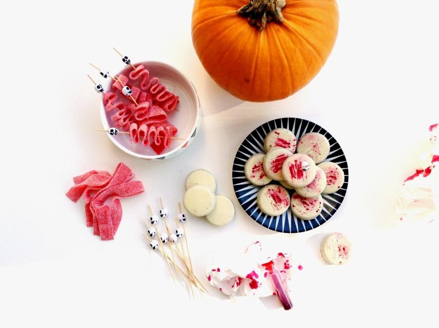 { HALLOWEEN } Souviens-toi Halloween dernier … quand je préparais les sucreries pour la Kidz Party…
