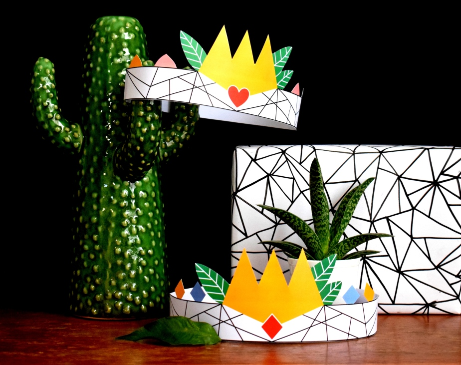 { Royal DIY } QUEEN and KING (freeprintables)