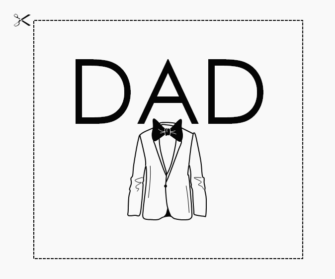 a card for dad