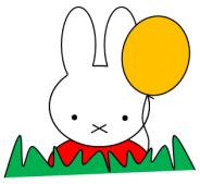 miffy balloon