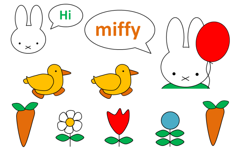 MIFFY toppers